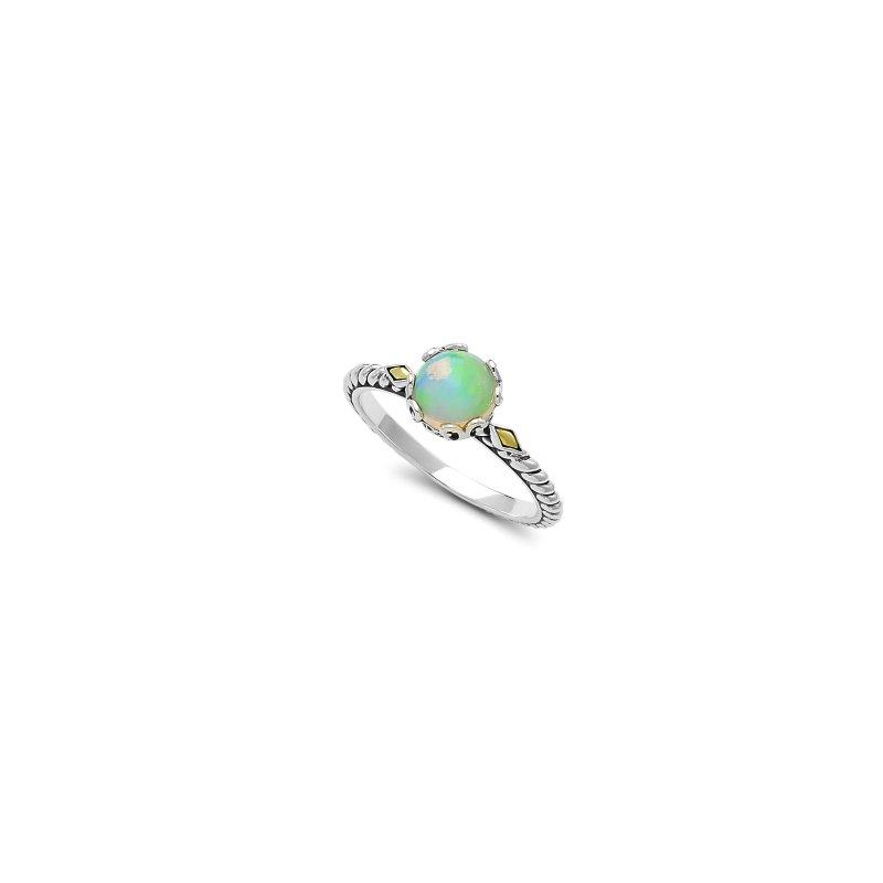 Samuel B. Opal Birthstone Ring