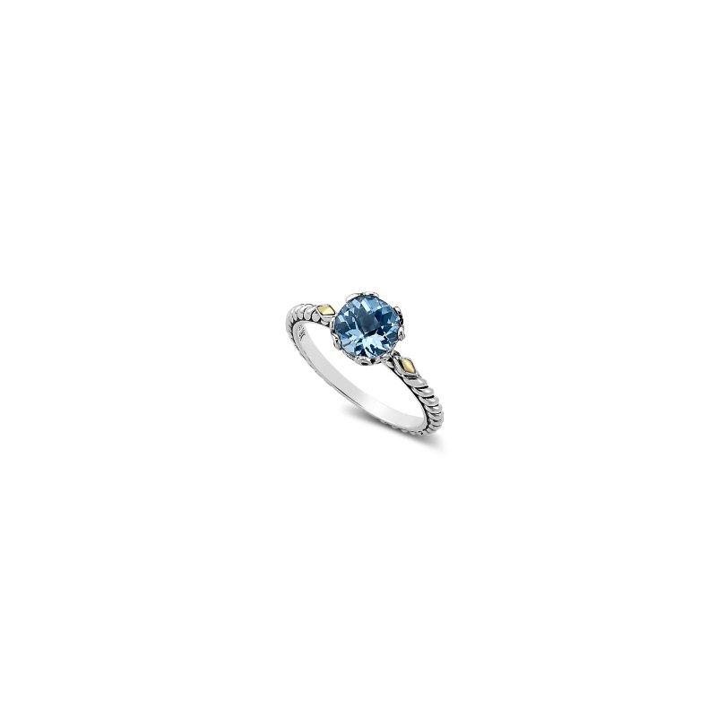 Samuel B. Blue Topaz Birthstone Ring
