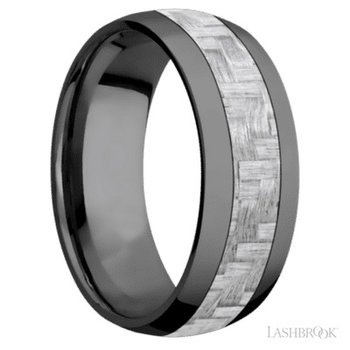 Zirconium Carbon Fiber Band