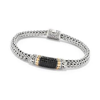 Black Spinel Pavé Bracelet