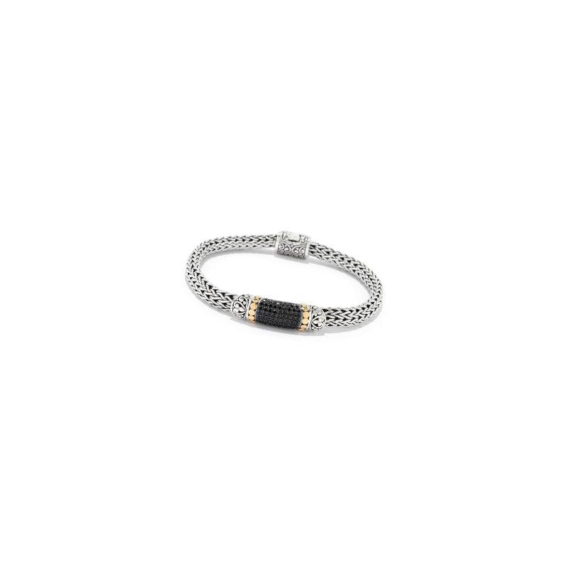 Samuel B. Black Spinel Pavé Bracelet