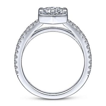 Teague Round Diamond Engagement Ring