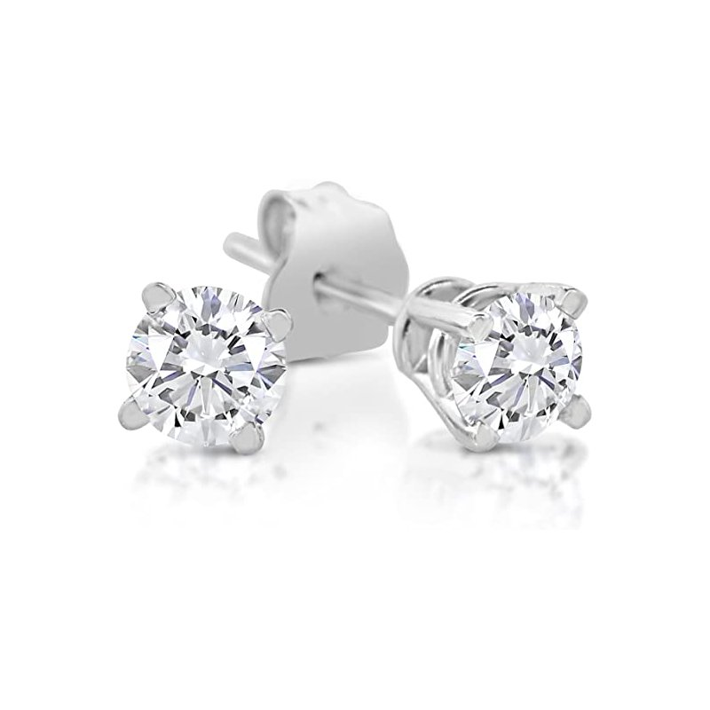Murphy Pitard Signature Collection Diamond 1/6 Carats Traditional Stud Earrings