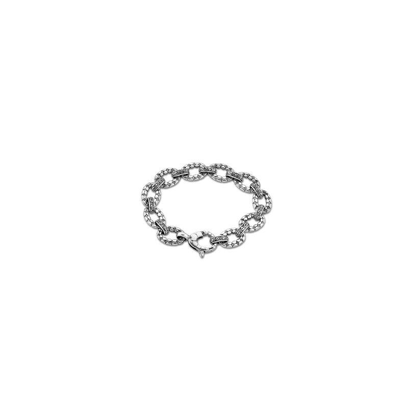 Samuel B. Link Silver Bracelet