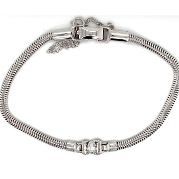 Diamond Starter Add-A-Diamond Tennis Bracelet