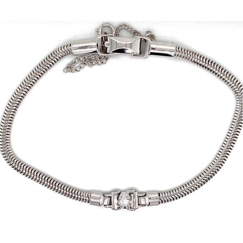 Kaspar and Esh Diamond Starter Add-A-Diamond Tennis Bracelet