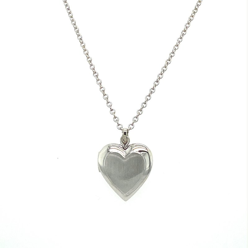 Murphy Pitard Signature Collection Heart Locket Necklace