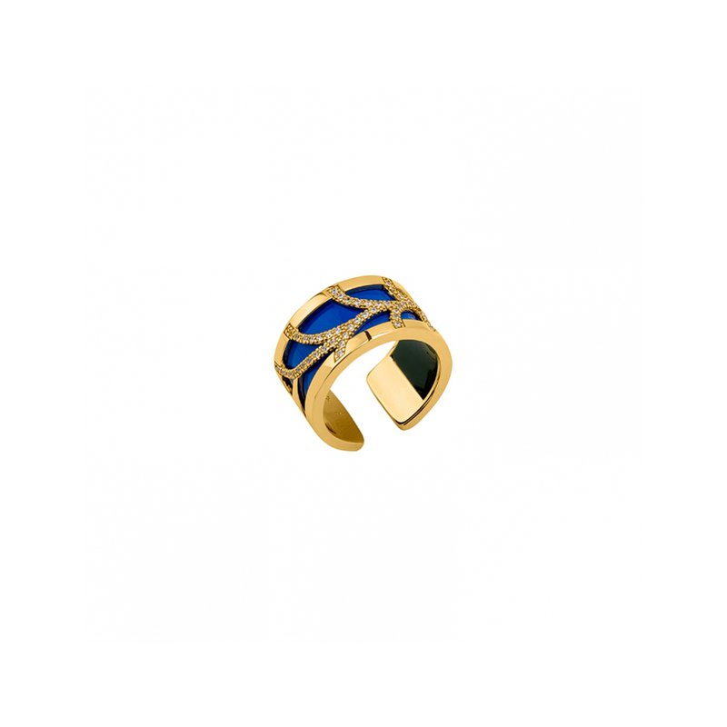 Les Georgettes by Altesse Precieuses Courbe Pattern Cuff Ring