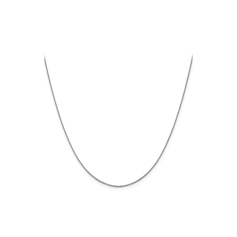 Murphy Pitard Signature Collection Diamond Cut Cable .90 Millimeter Chain