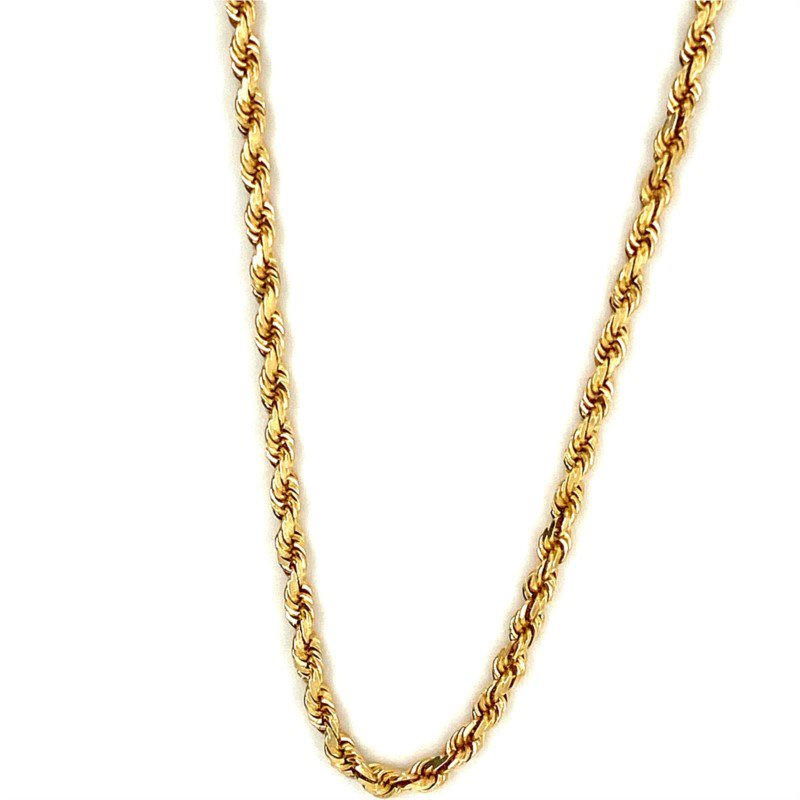 Murphy Pitard Signature Collection Solid 18 Inch Rope Chain