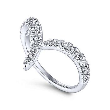 Diamond V Shape Bypass Ring