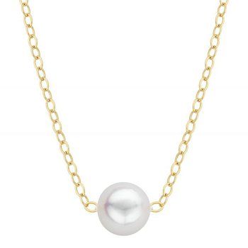 Akoya Single Cultured Pearl Add-A-Pearl Necklace