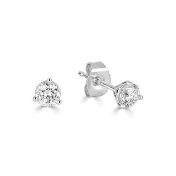 Diamond 1/4 Carats Lab Grown Stud Earrings