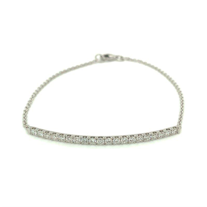 Murphy Pitard Signature Collection Diamond 3/4 Carats Bar Bracelet