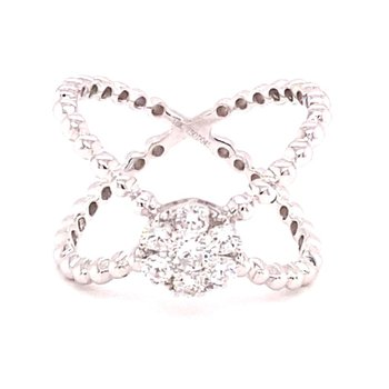 Diamond Criss-Cross Band