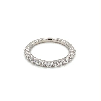 Diamond Common Prong Anniversary Band