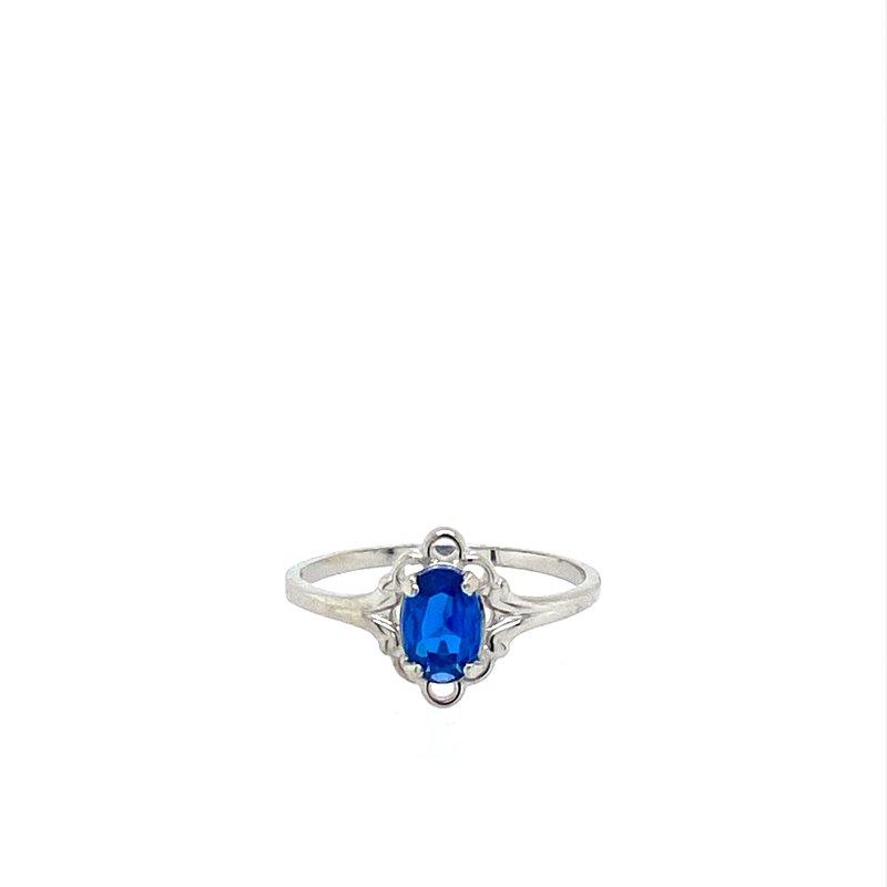 Murphy Pitard Signature Collection Sapphire Birthstone Ring