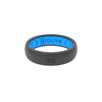 Deep Stone Silicone Ring - Size 6