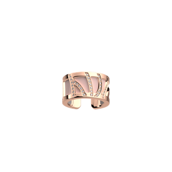 Precieuses Perroquet Pattern Cuff Ring