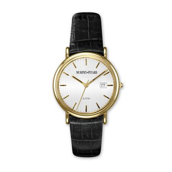 Murphy Pitard Classic Dress Watch With Leather Band