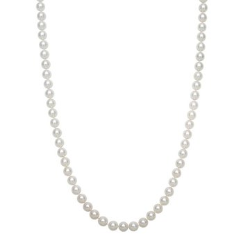 Freshwater Pearl 6-7 Millimeter Strand Necklace