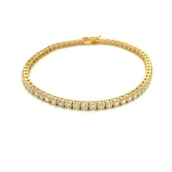 Diamond 5 Carats Traditional Tennis Bracelet