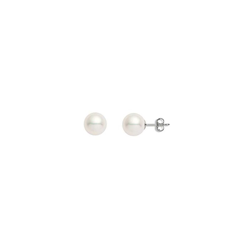 Murphy Pitard Signature Collection Freshwater Pearl 12 Millimeter Stud Earrings