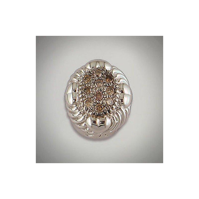Goldman-Kolber Caerleon Brown Diamond Bezel Insert