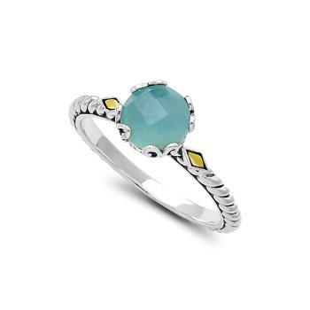 Aquamarine Birthstone Ring