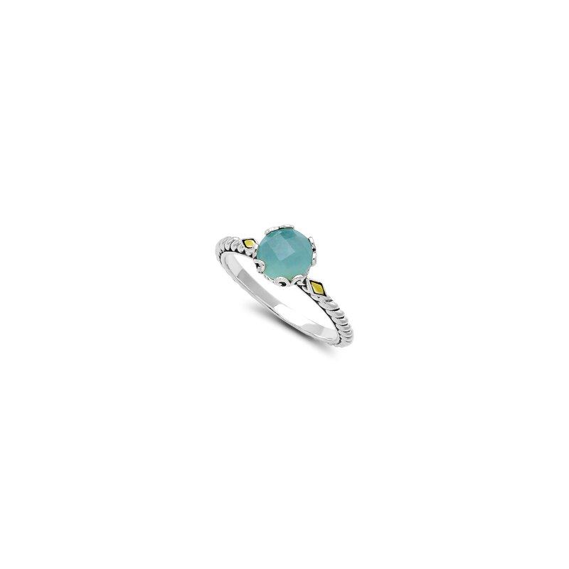 Samuel B. Aquamarine Birthstone Ring