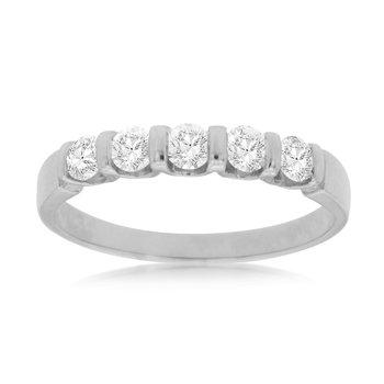 Diamond 5 Stone Band