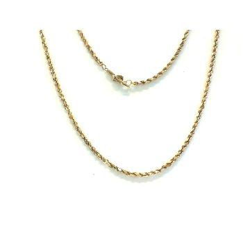 Rope 18 Karat 1.9 Millimeter Chain