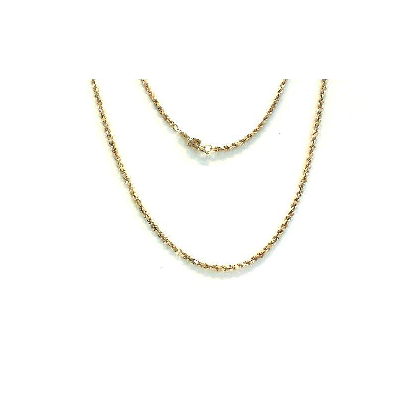 Murphy Pitard Estate Collection Rope 18 Karat 1.9 Millimeter Chain