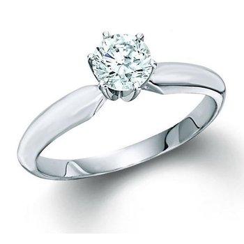 1.03 Carat Diamond Solitaire Engagement Ring