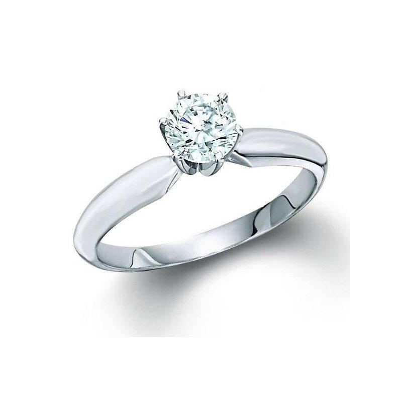 Murphy Pitard Signature Collection 1.03 Carat Diamond Solitaire Engagement Ring