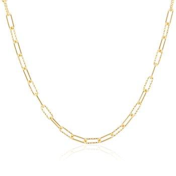 Sparkle Mix Yellow Gold Vermeil Chain
