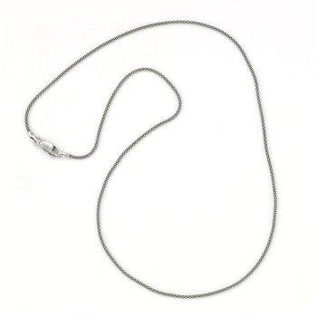 Silver 20 Inch Pop Corn Chain