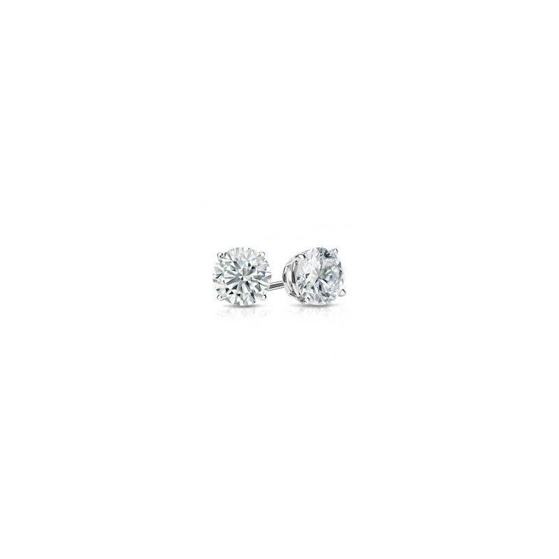 Murphy Pitard Signature Collection Traditional 3 Carats Diamond Stud Earrings