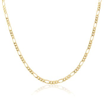 Gold Vermeil Medium Figaro Chain