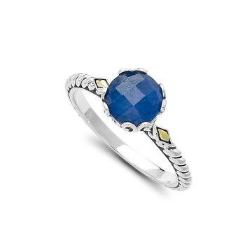 Blue Sapphire Birthstone Ring
