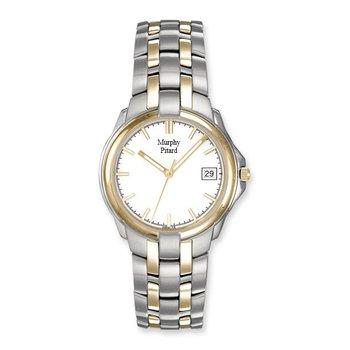Murphy Pitard Two Tone 35 Millimeter Case Dress Watch