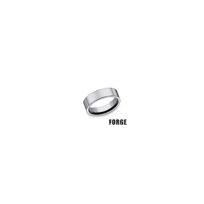 Benchmark Forge Tungsten Comfort-Fit Design Wedding Band