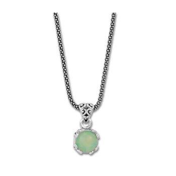 Opal Drop Pendant Necklace