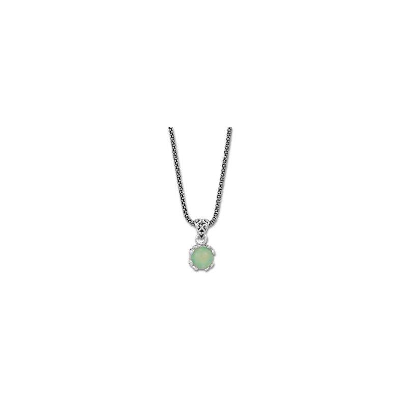 Samuel B. Opal Drop Pendant Necklace
