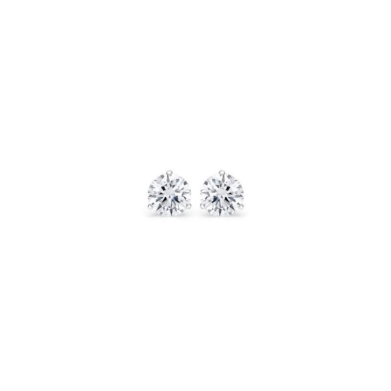 Murphy Pitard Signature Collection Martini Set 2 Carats Diamond Stud Earrings