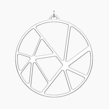 Solaire Round Pendant