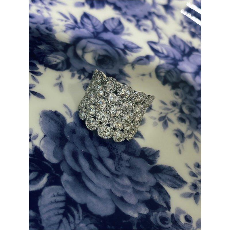 Murphy Pitard Signature Collection Diamond Concave Woven Fashion Band