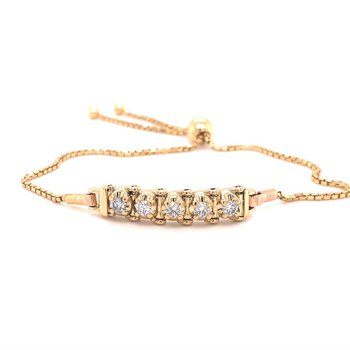 Diamond Bolo Tennis Bracelet Starter