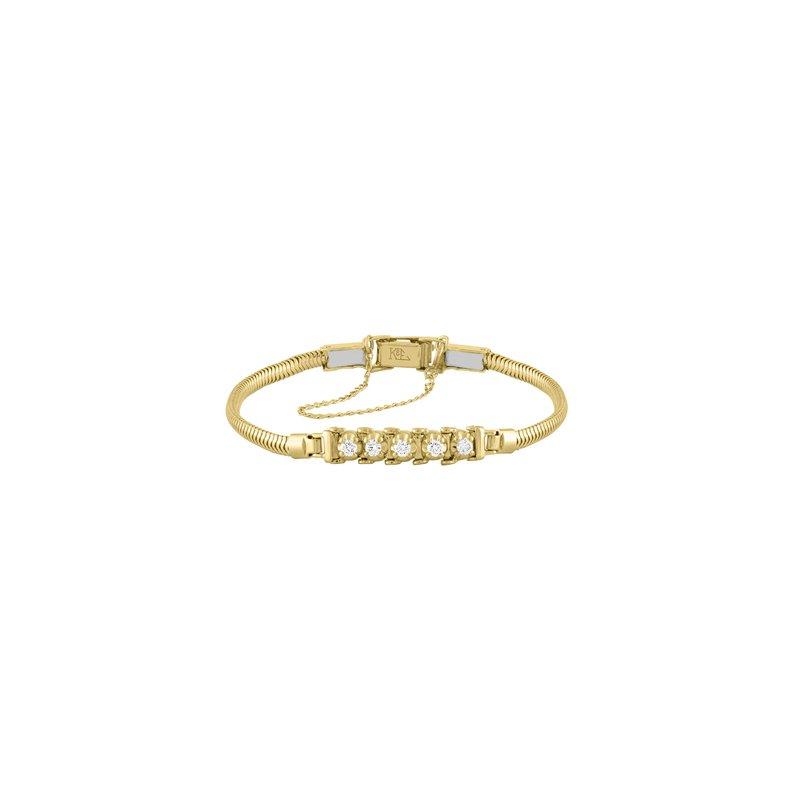 Kaspar and Esh Tennis Style Diamond .30 Carats Starter Bracelet