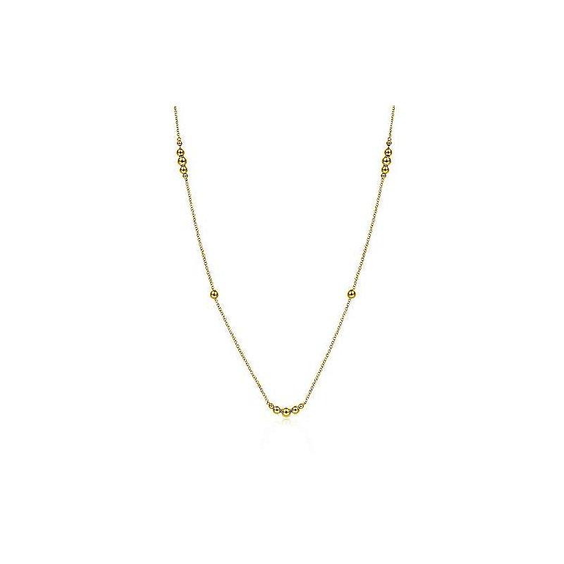 Gabriel & Co. New York Bujukan Bead Station Necklace